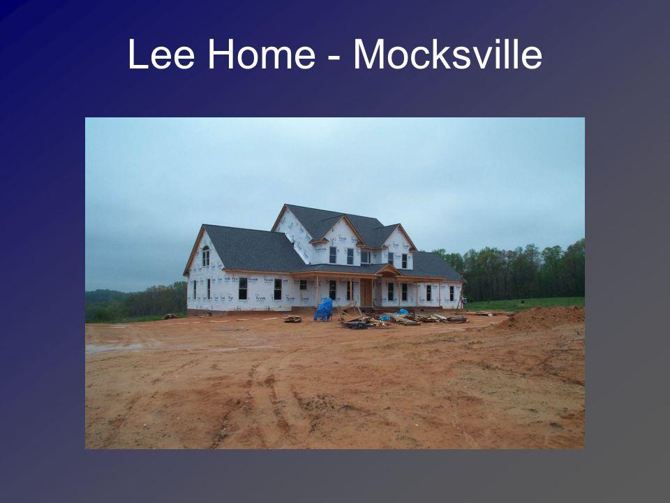Lee Home - Mocksville