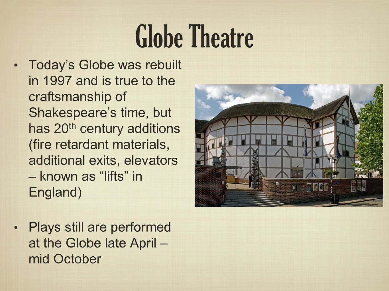 in the globe theatre shakespeare s plays choice image