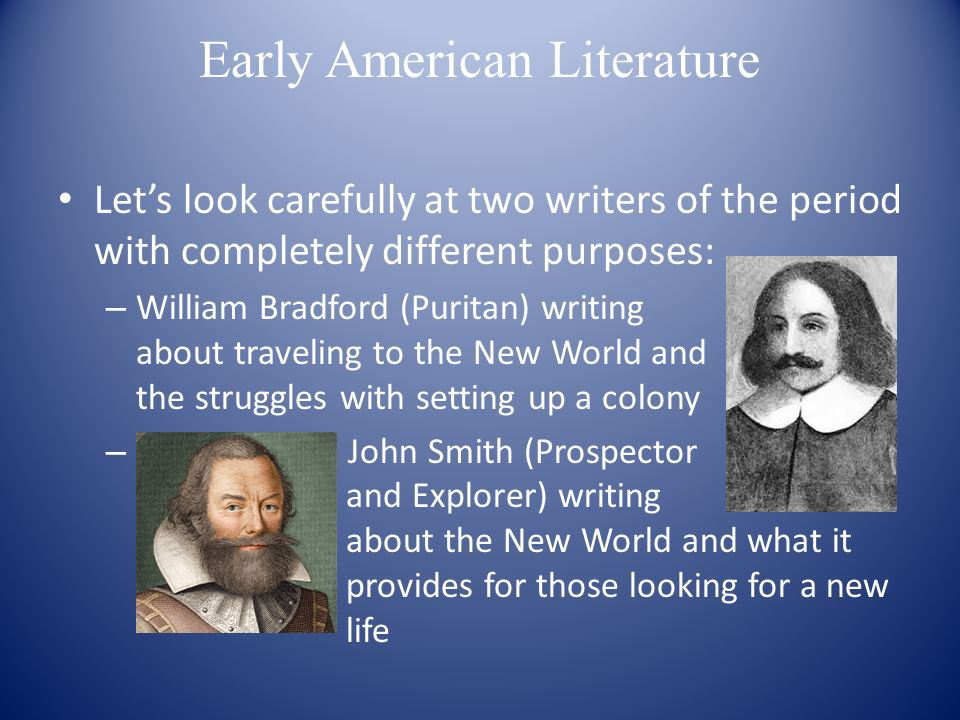 the early american literature essay This sample history essay explores the impact native americans had on literature ultius, inc native americans in early american literature ultius.