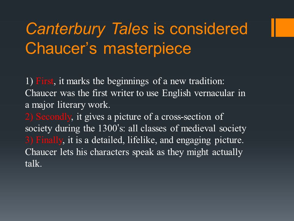 essay on the use of frame narrative in the canterbury tales Literature essays college application what is the purpose of the frame story technique du maurier the most famous example is chaucer's canterbury tales.