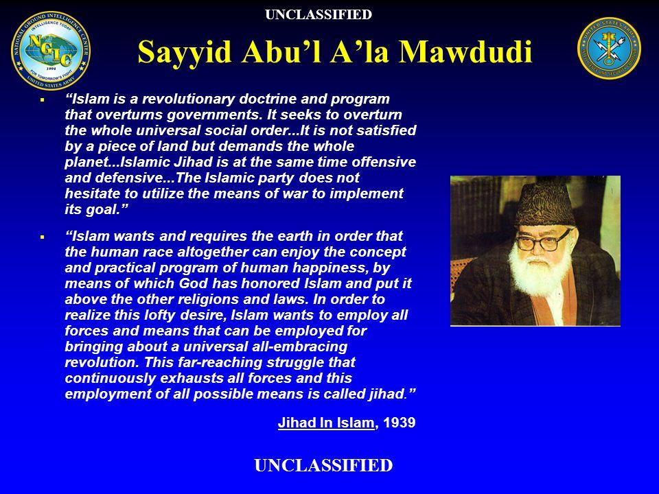 Sayyid Abu'l A'la Mawdudi