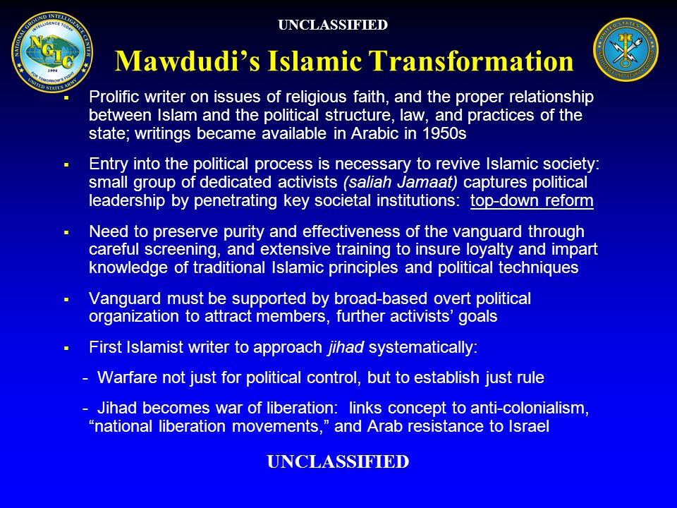 Mawdudi's Islamic Transformation