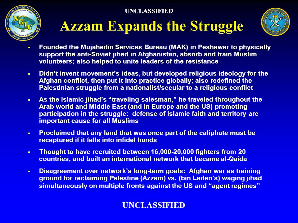 Azzam Expands the Struggle