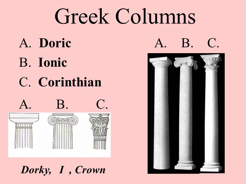 doricionic corinthian essay