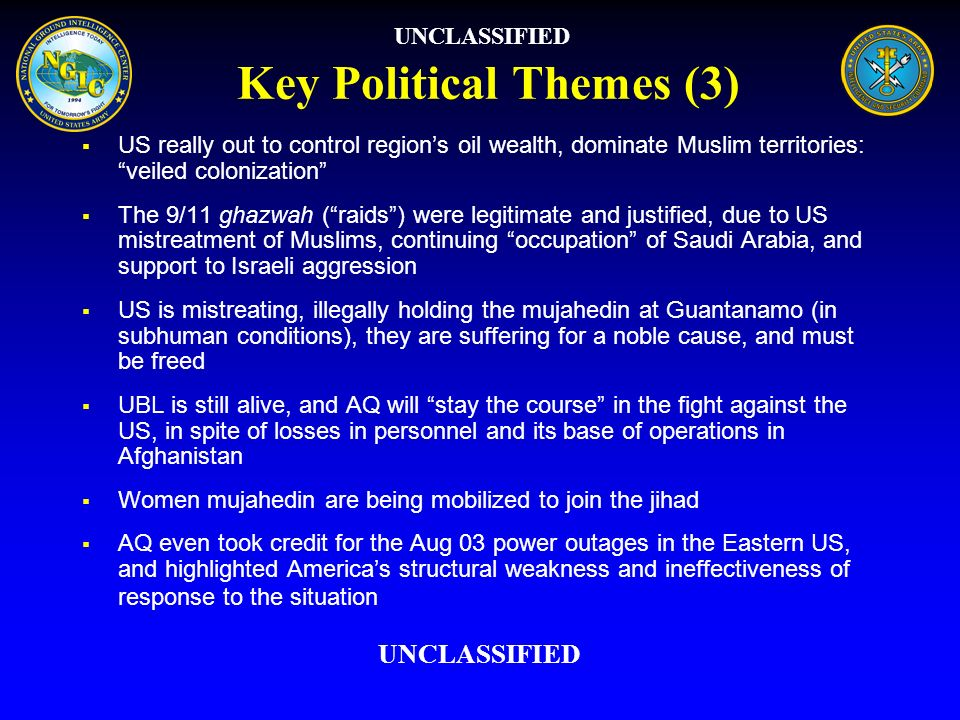 Key Political Themes (3)