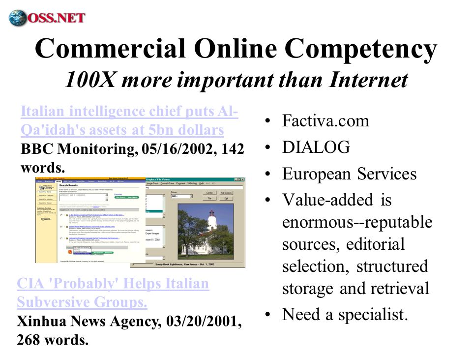 Commercial Online Competency 100X more important than Internet