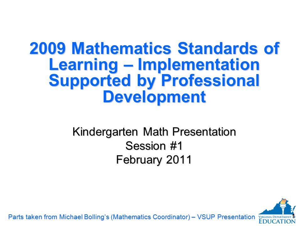 Kindergarten Math Presentation - ppt download