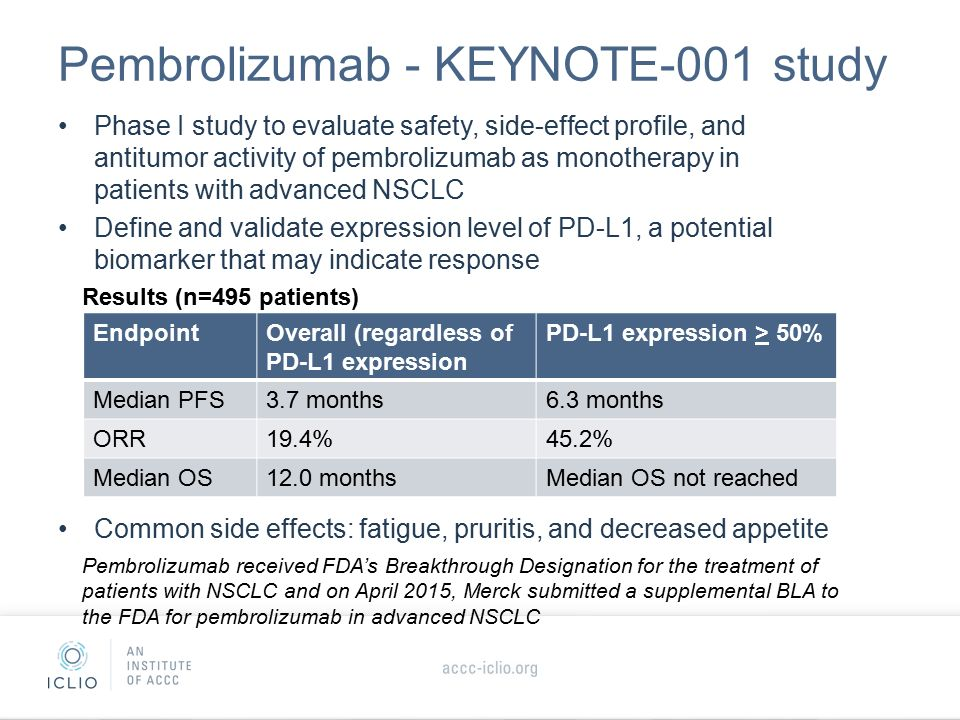 Immunotherapy In Non Small Cell Lung Cancer Nsclc Ppt
