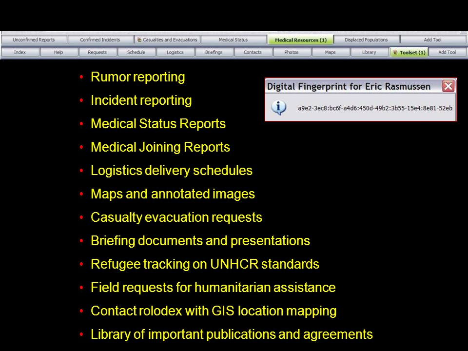 Medical Status Reports Medical Joining Reports