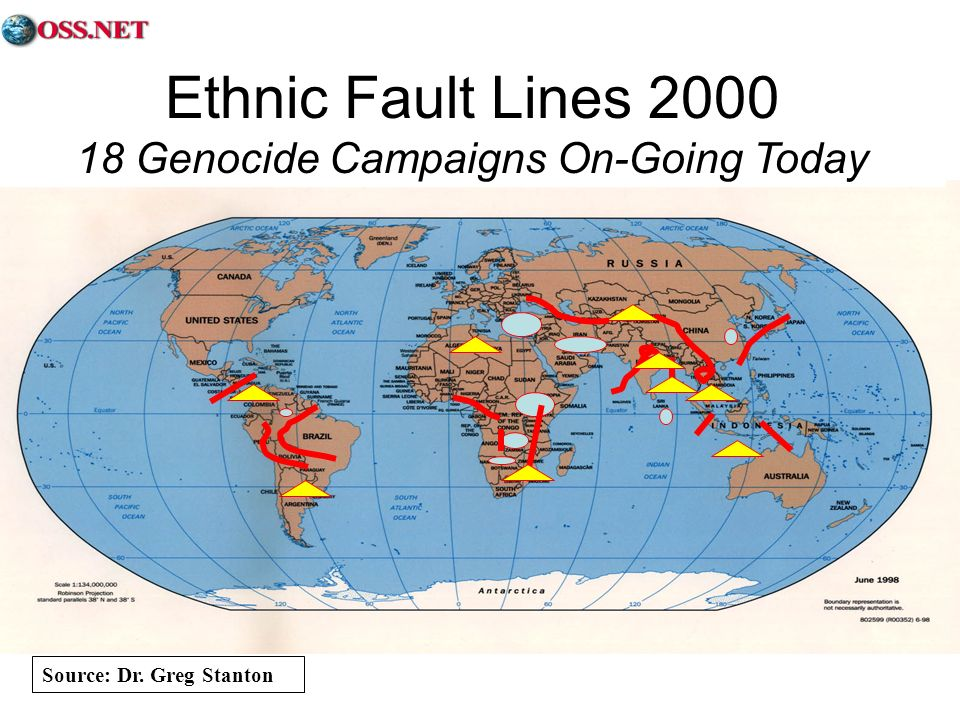 18 Genocide Campaigns On-Going Today