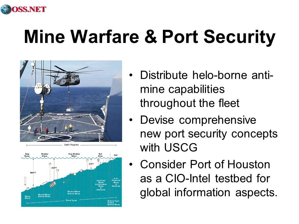 Mine Warfare & Port Security
