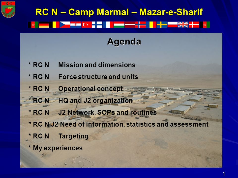 RC N – Camp Marmal – Mazar-e-Sharif