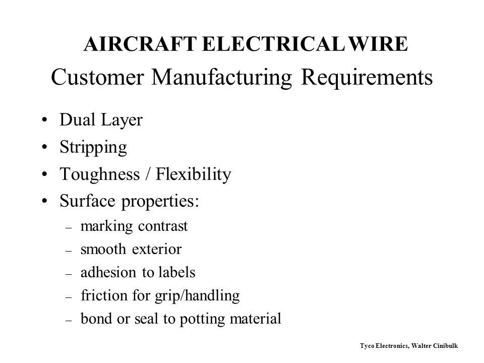 Customer+Manufacturing+Requirements tyco electronics (raychem) ppt video online download  at reclaimingppi.co