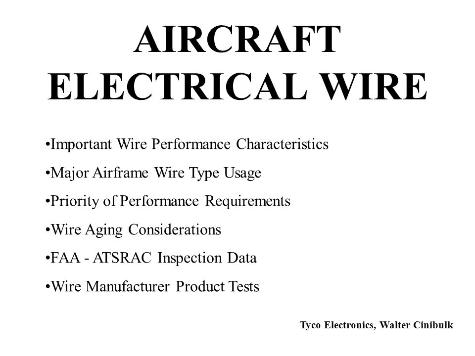 AIRCRAFT+ELECTRICAL+WIRE tyco electronics (raychem) ppt video online download  at reclaimingppi.co