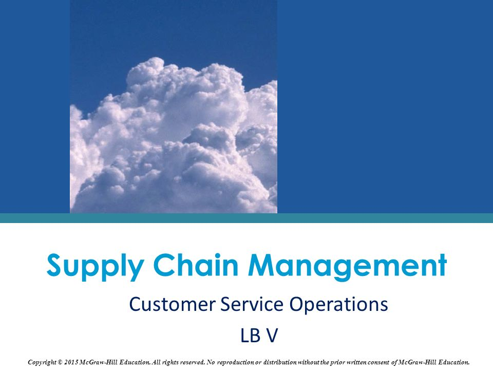 characteristic of effective supply chain management Follow the 4 c's to implement a demand driven supply chain  supplier engagement and performance management programs should be established to include focused.