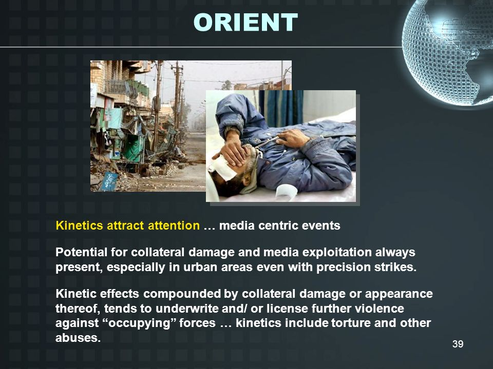 ORIENT Kinetics attract attention … media centric events