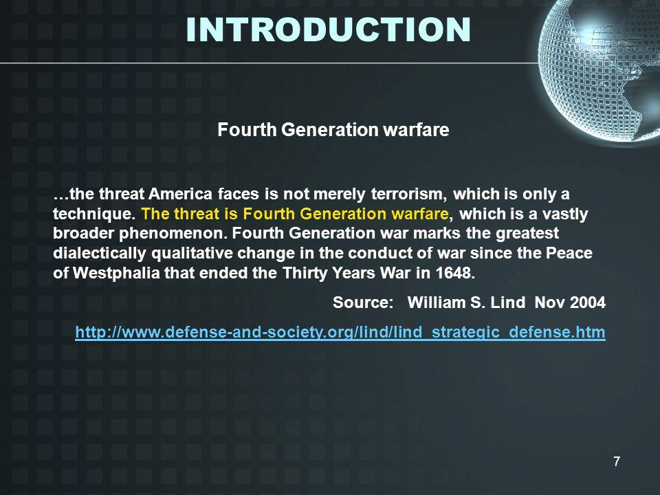Fourth Generation warfare