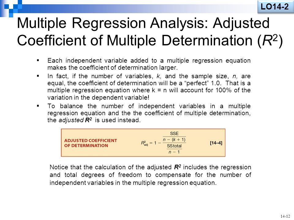 An overview of the techniques of modeling and analyzing multiple variables used in the regression an