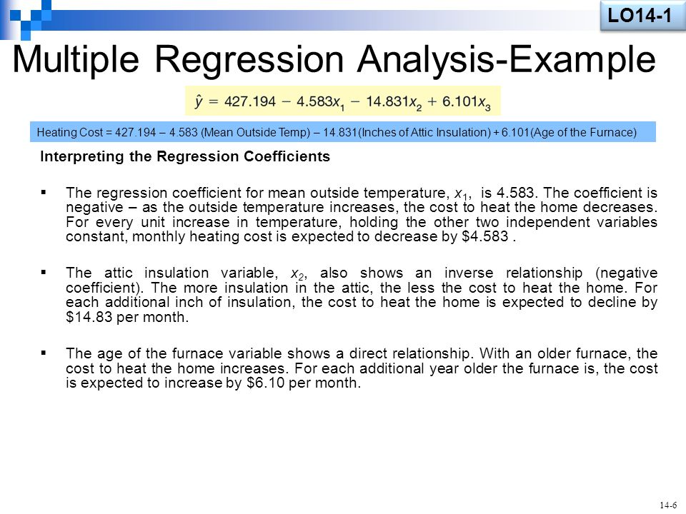 multiple regression analysis case study A case study applied to a company, ie, a sugar  multiple regression analysis allows to estimate the parameters of the econometric model,.