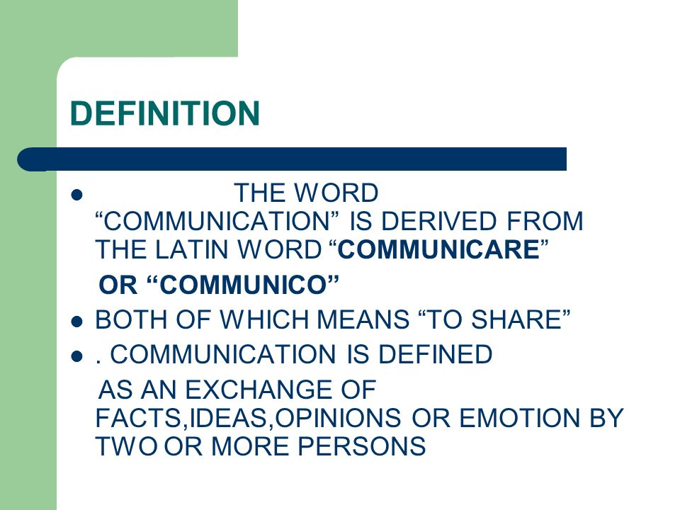 information about means of communication Communication: the process, barriers, and improving effectiveness  exchange of information, there is no communication  filtering means that more often than not.