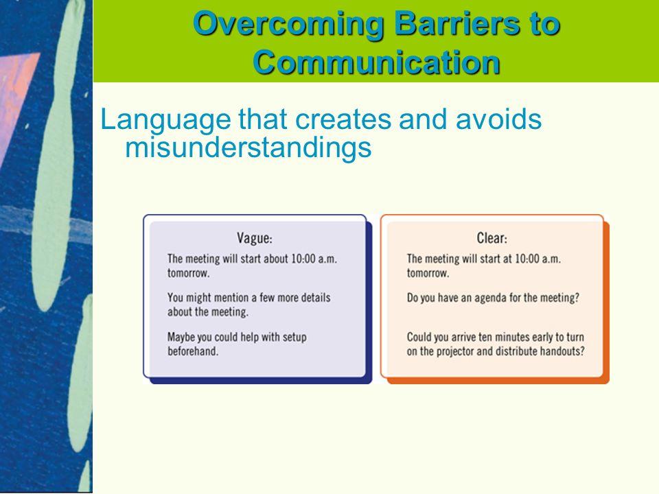 overcoming language barrier essay