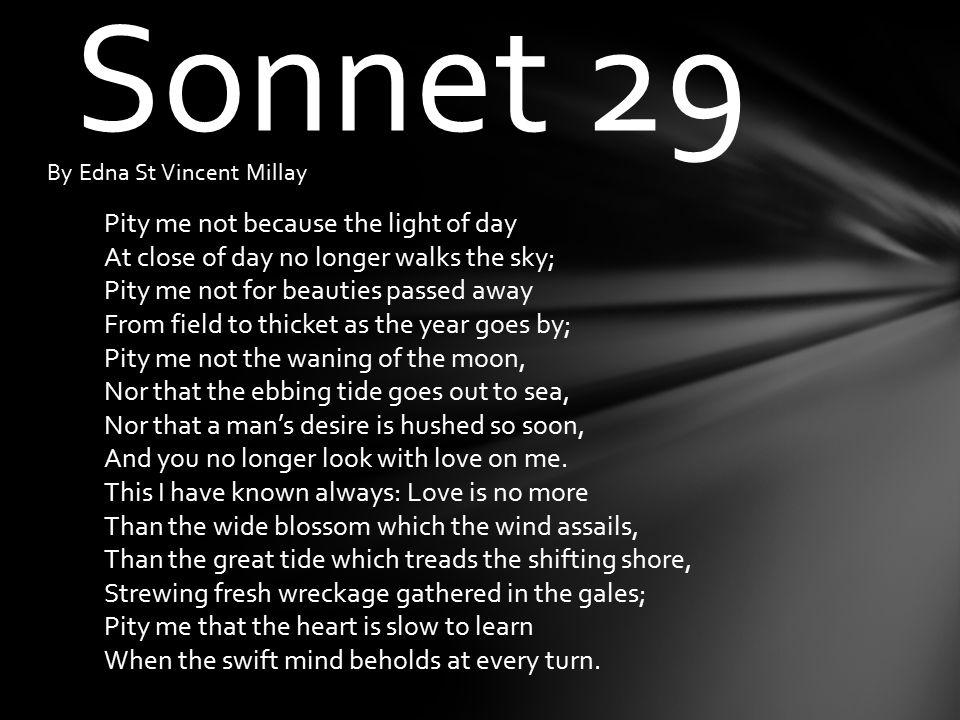 millay sonnet 30