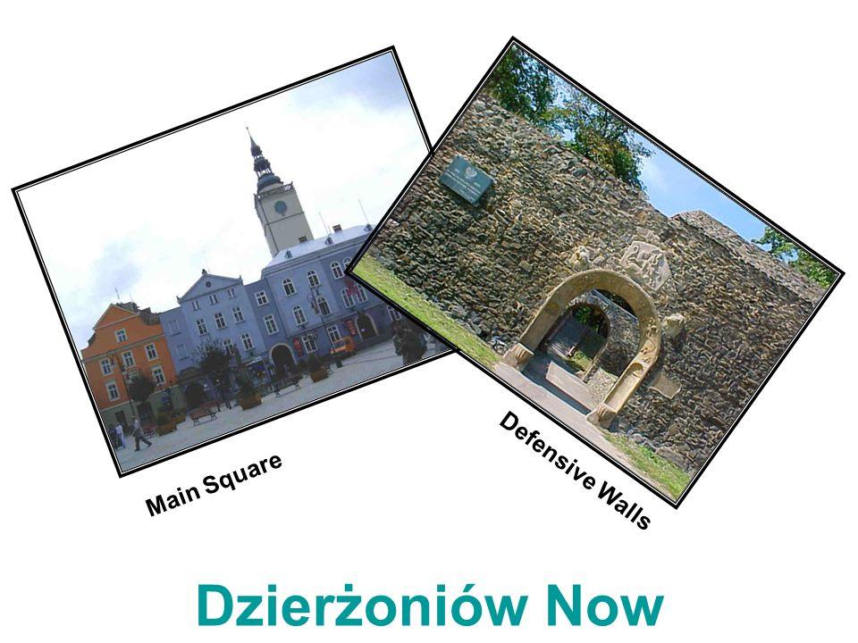 Main Square Defensive Walls Dzierżoniów Now