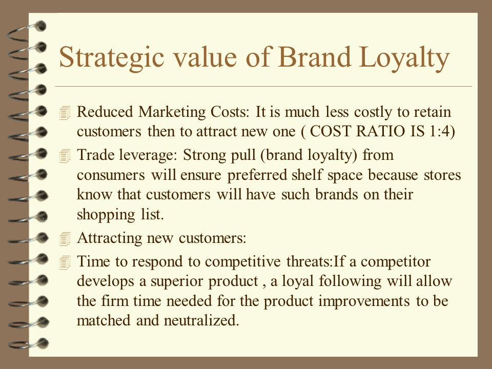 strategic brand value And brand value is a decisive factor for purchasing decisions in the current digital   depending on the marketing strategy implemented, brand.