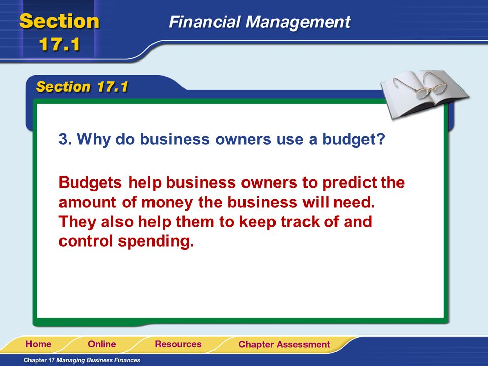 Business Plan: Your Financial Plan