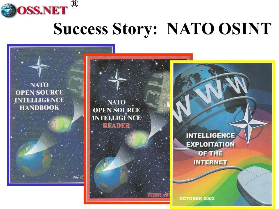 Success Story: NATO OSINT