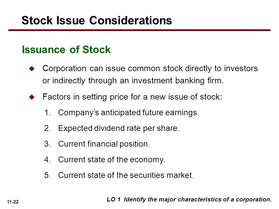 Can s corporation issue stock options