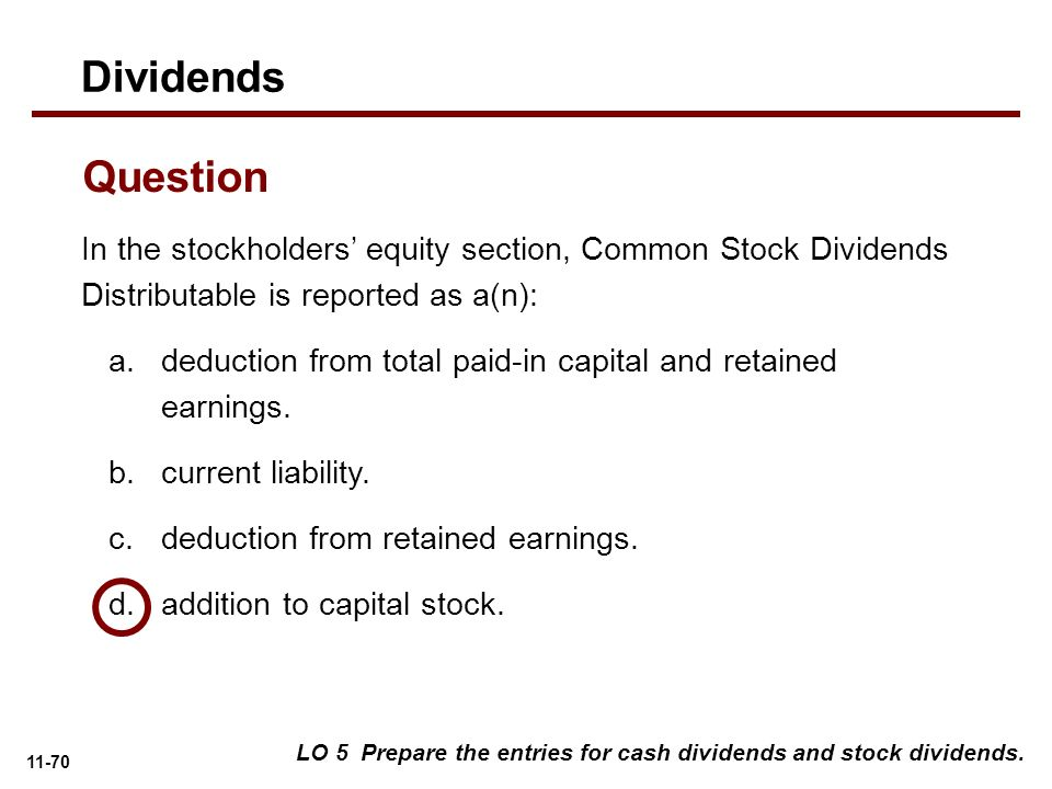Stock options division c deduction