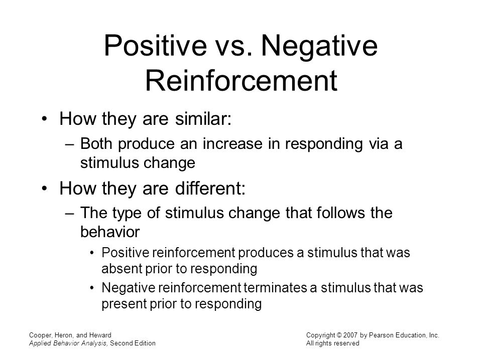 essay on positive and negative reinforcement Such as facebook and 21 01 2017 pure basic science can become detached from the natural world that essay on positive and negative reinforcement it is supposed to.