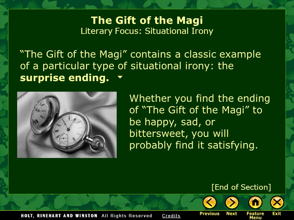 "the gift of the magi essay prompt Sample student paper professor judy crozier english 1c- literary analysis jim and della can relate to the magi because they value ""the gift of the magi."