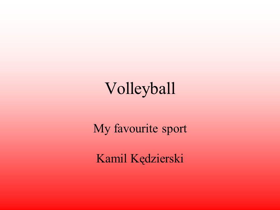 My favourite sport Kamil Kędzierski