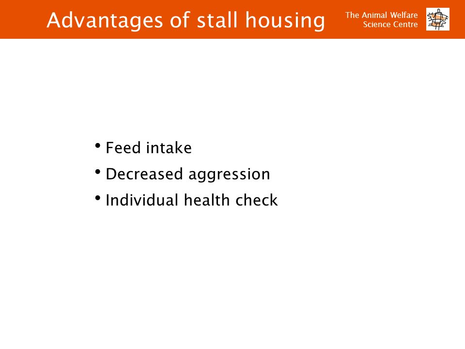 Advantages of stall housing