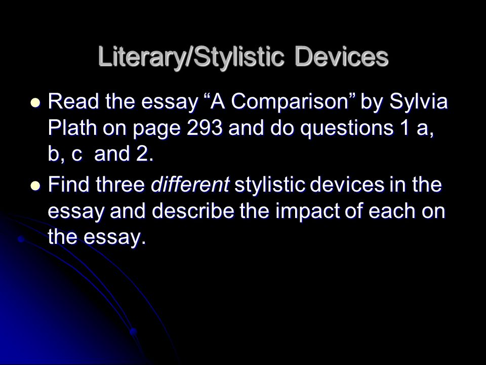 literary comparison contrast essay Comparison: sample literary essay, two poems establish a point of comparison for each topic and then describe first (in contrast to, on the other.