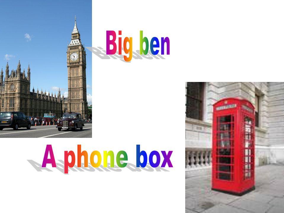 Big ben A phone box