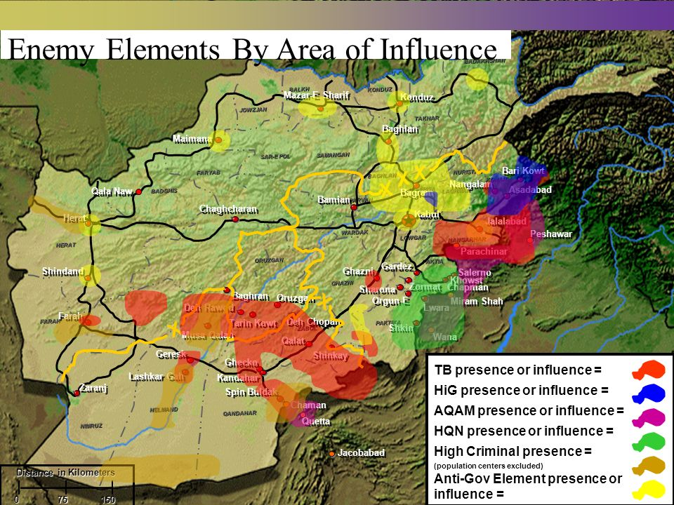 Enemy Elements By Area of Influence