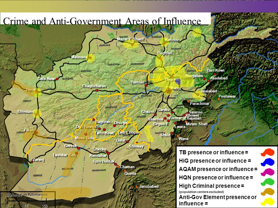 Crime and Anti-Government Areas of Influence