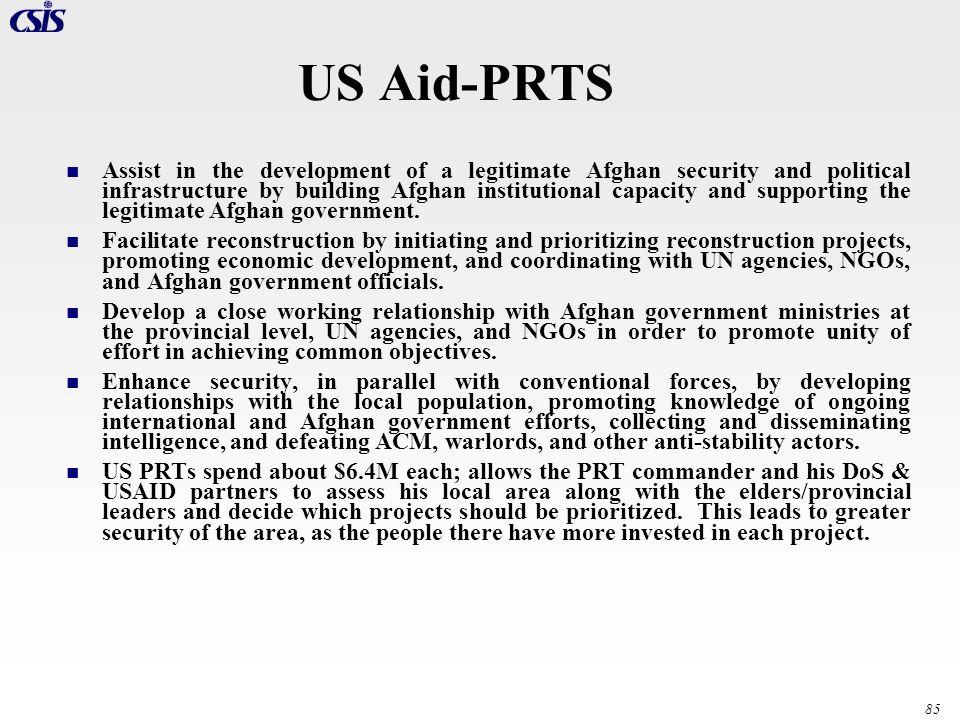 US Aid-PRTS