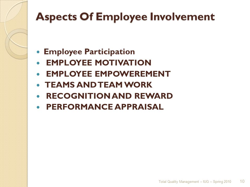 motivation aspects to job selection Intrinsic motivation is a valuable, yet underutilized, aspect of employee engagement and productivity taking ideas from each of the intrinsic motivators, you can create a system of motivation that works for you and your team.