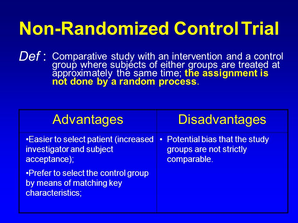 A Study Without a Control Group? Evidence for Enhanced ...