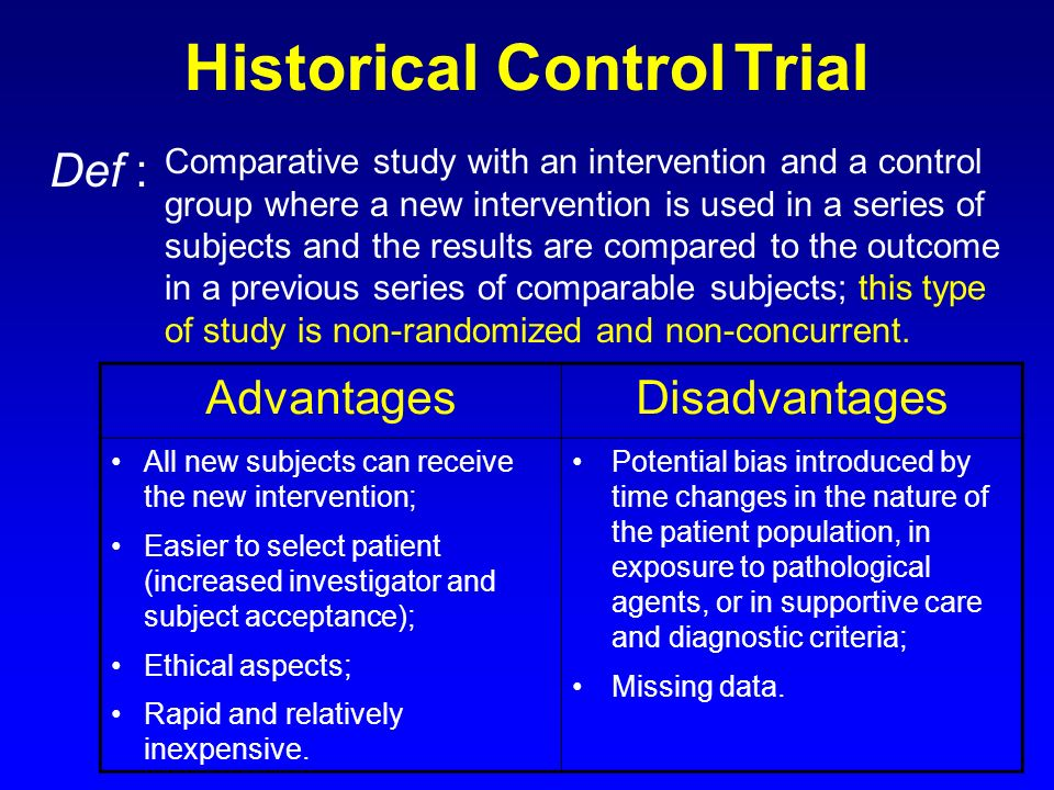 A Randomized, Concurrent Controlled ... - ClinicalTrials.gov
