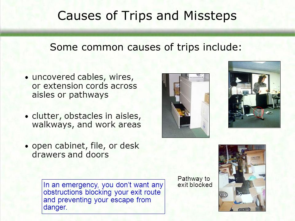 Slips Trips And Falls Module One Ppt Video Online