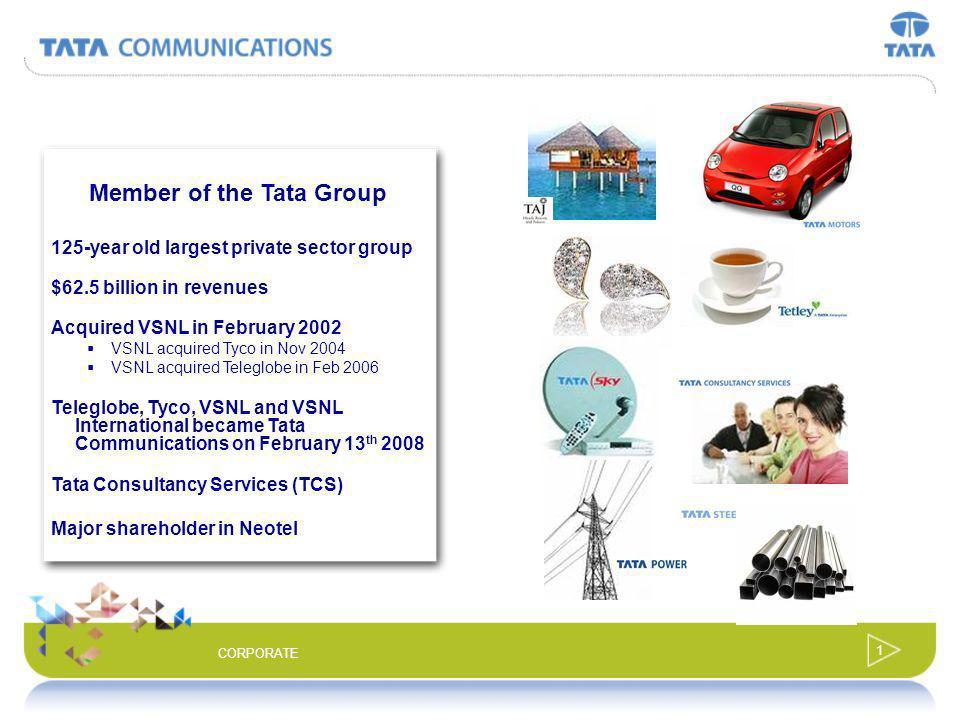 Member of the Tata Group