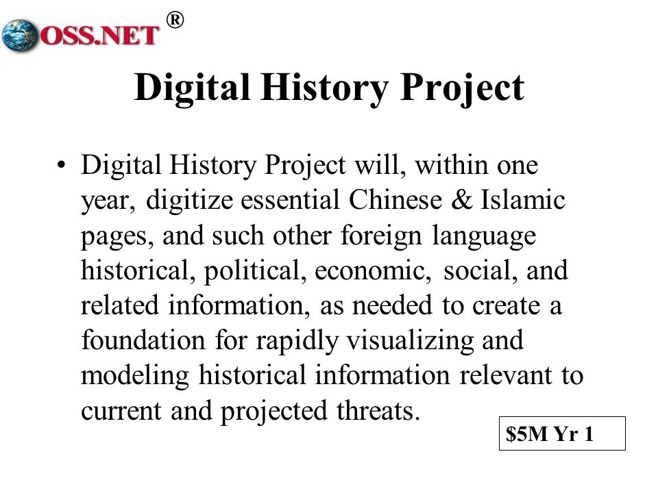 Digital History Project