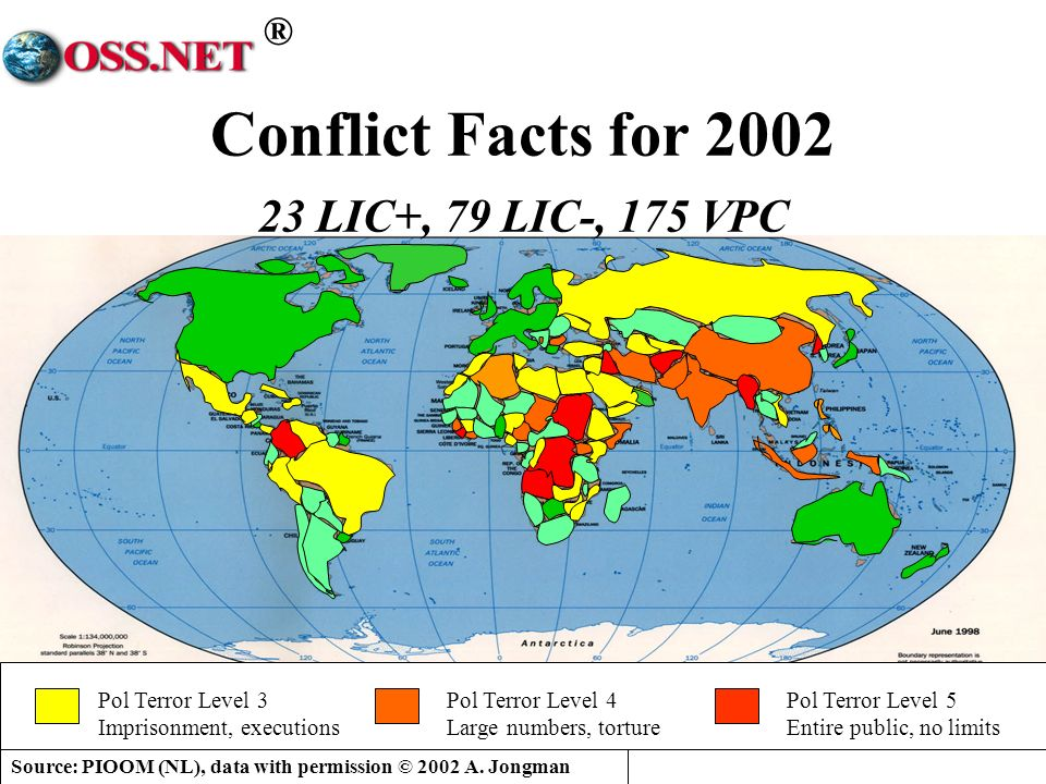 Conflict Facts for 2002 23 LIC+, 79 LIC-, 175 VPC