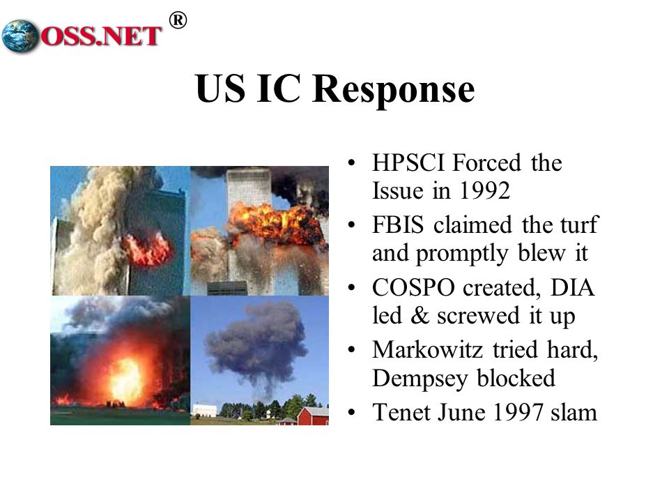 US IC Response HPSCI Forced the Issue in 1992