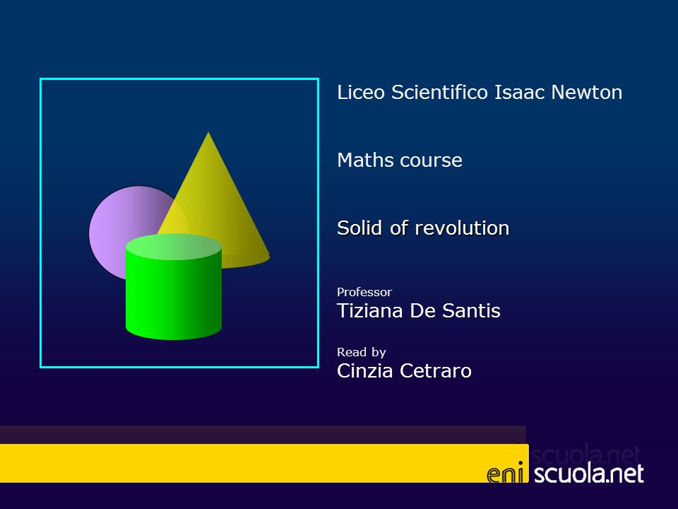 Liceo Scientifico Isaac Newton